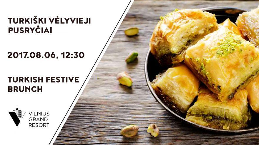 Turkiški vėlyvieji pusryčiai
