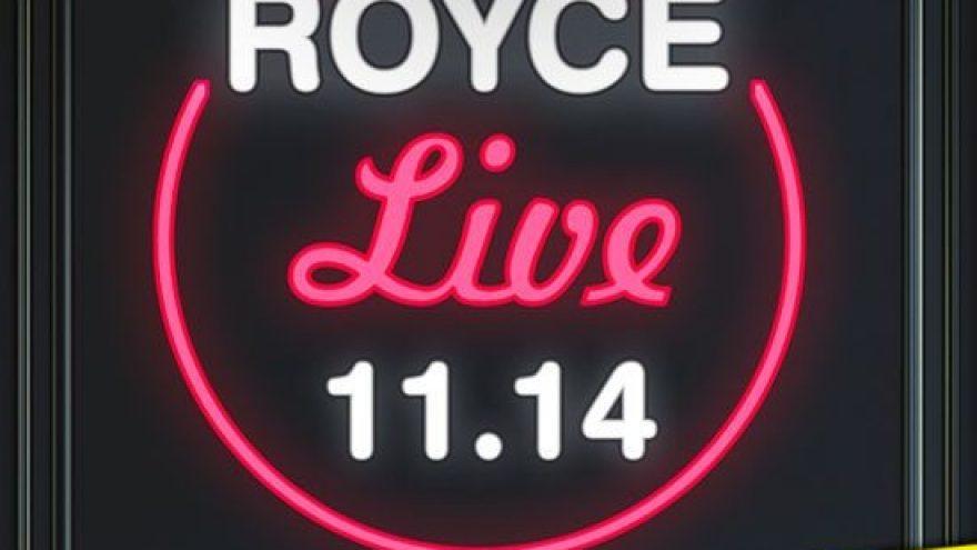 (Perkeltas) ROYCE – Live @ VAKARIS, Vilnius