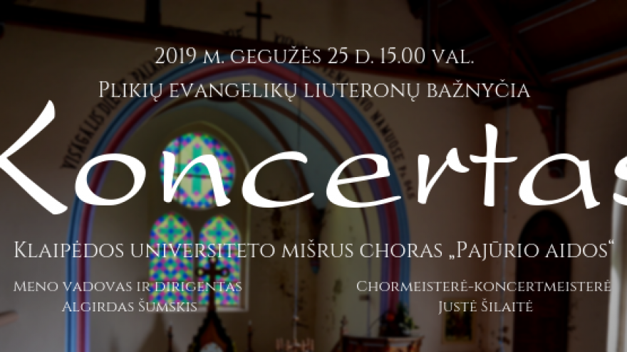 Chorinės muzikos koncertas