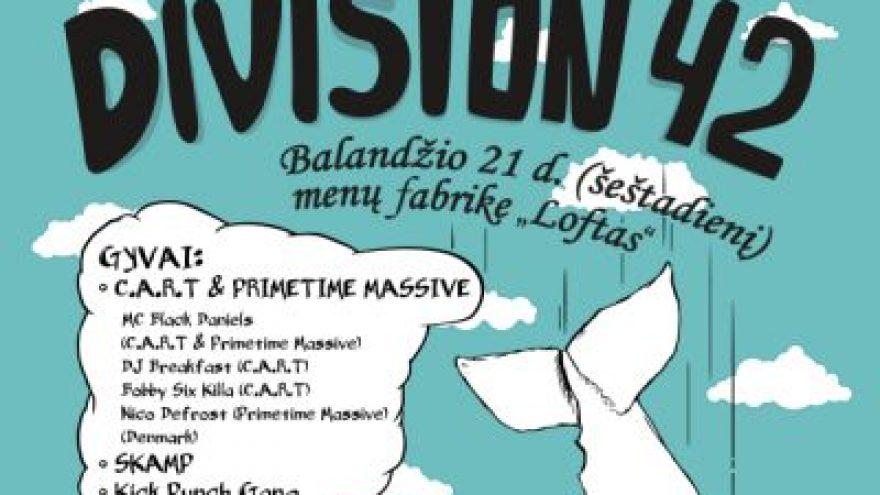 Gyvos elektroninės muzikos odisėja: DIVISION 42
