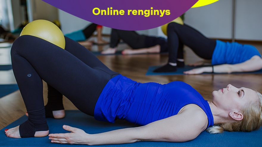 """Online: Treniruotė  Nr. 2 """"Pilates su Egle"""""""