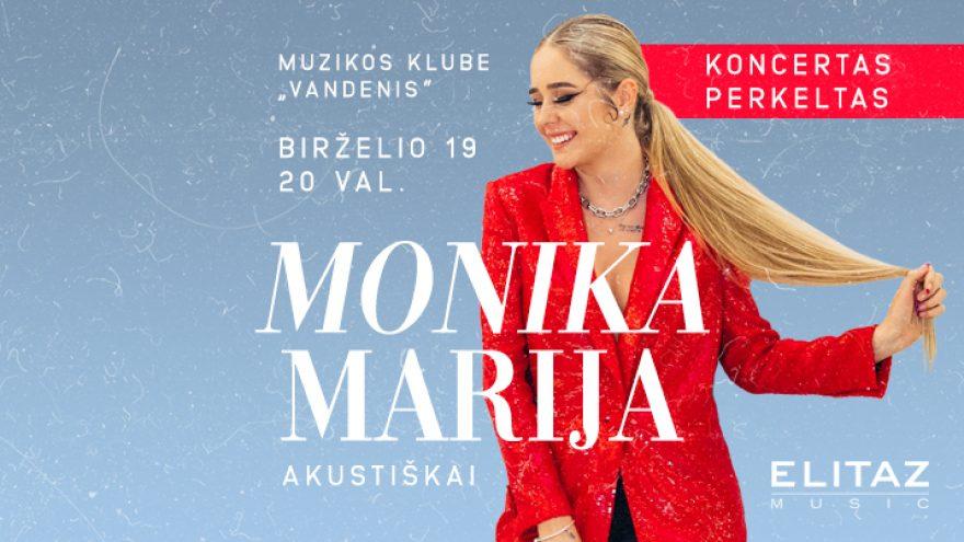 Monika Marija akustiškai
