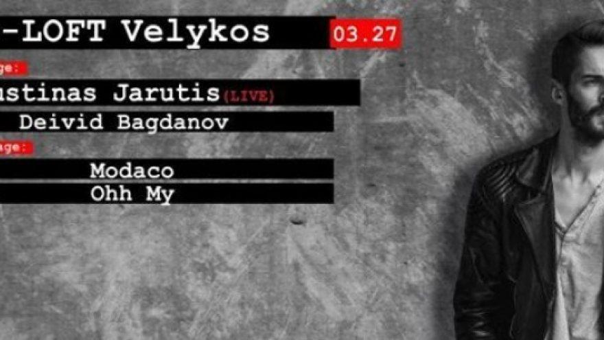 Velykos : Justinas Jarutis (LIVE)