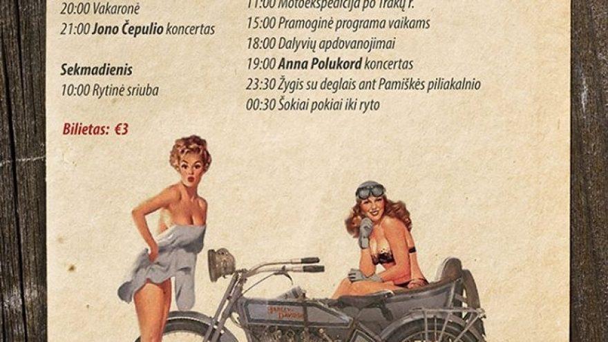 III Motociklų su priekabomis suvažiavimas
