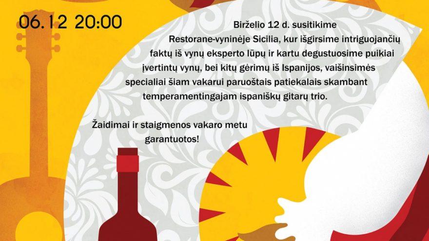 Ispaniškų vynų ir gitarų fiesta