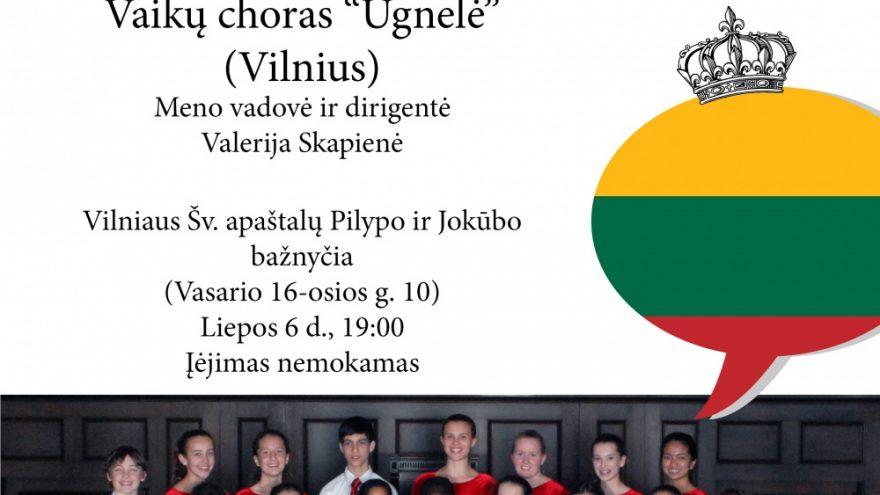 Toronto vaikų choras Vilniuje
