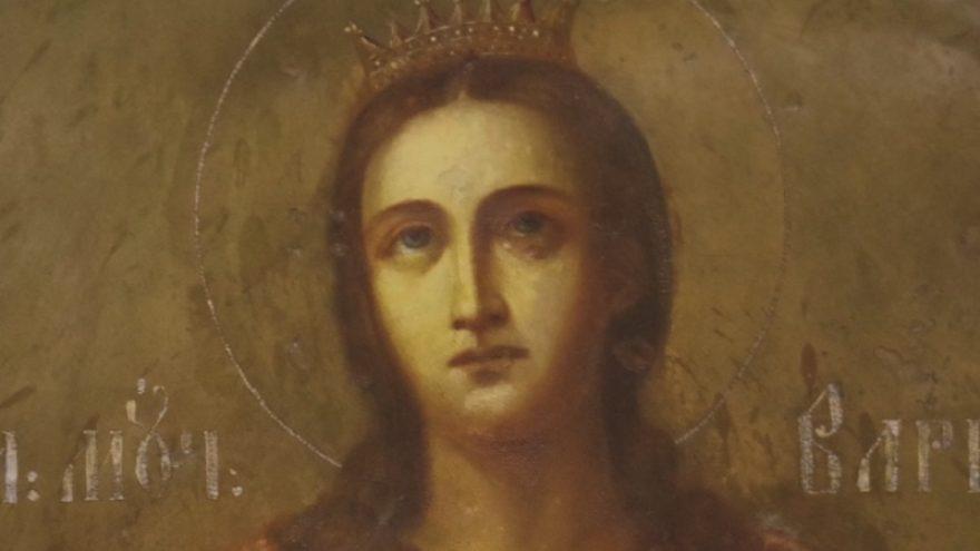 Markučių Šv. Barboros koplyčios fasado ikonų restauravimo ypatumai