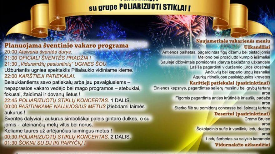 Naujųjų metų sutikimas su Poliarizuotais Stiklais!