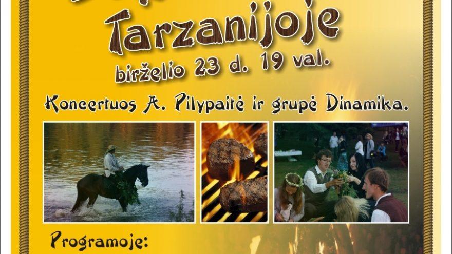 """Joninės nuotykių parke """"Tarzanija"""""""