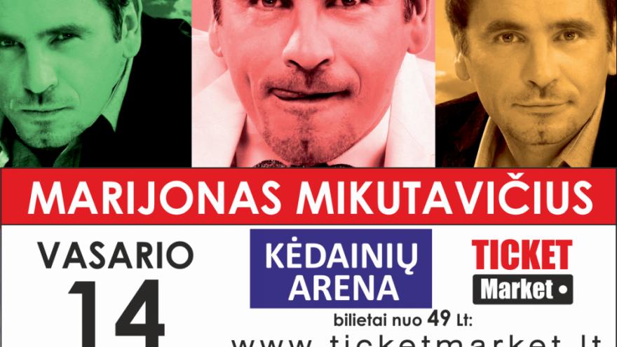 MARIJONO MIKUTAVIČIAUS KONCERTAS | KĖDAINIAI |