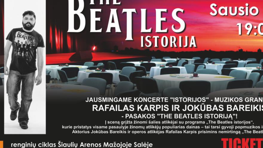 THE BEATLES ISTORIJA. J. BAREIKIS, R. KARPIS