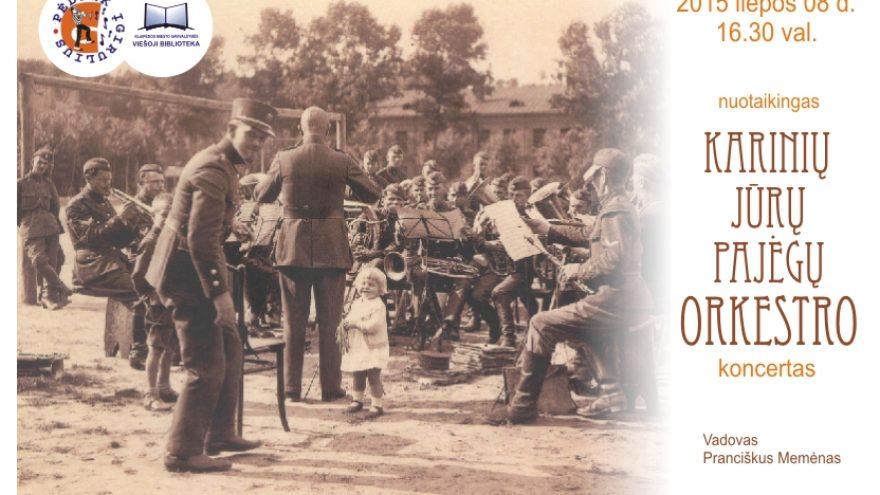 Karinių jūrų pajėgų orkestro koncertas