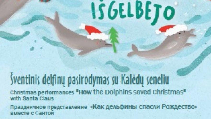 """Šventiniai renginiai """"Kaip delfinai Kalėdas išgelbėjo"""""""