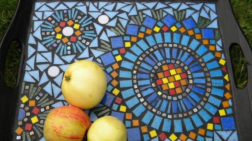 Daikto dekoravimas mozaika