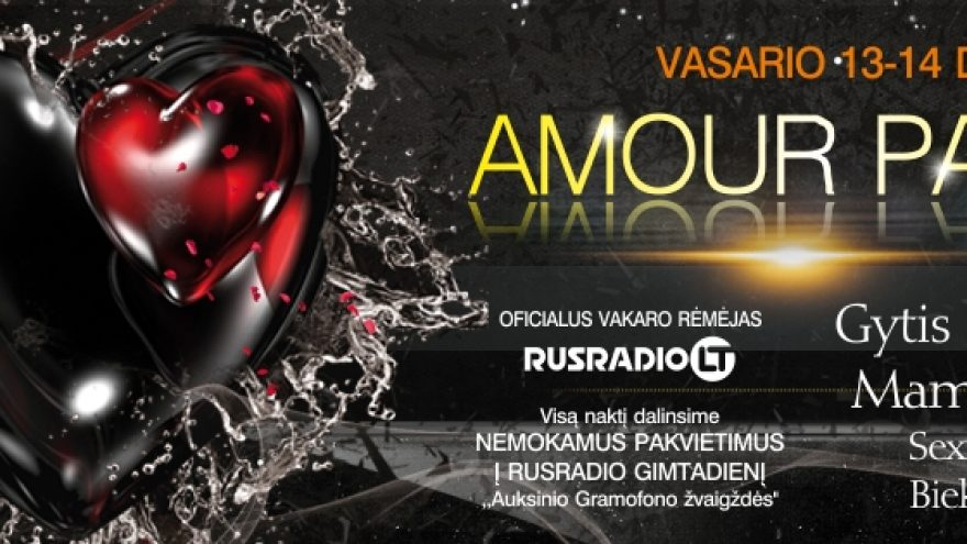 AMOUR PARTY