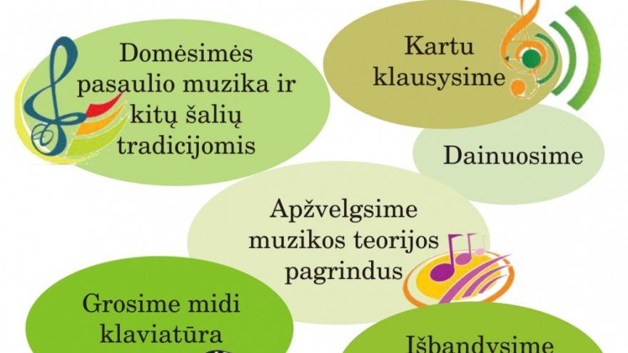 Muzikinio lavinimo užsiėmimai