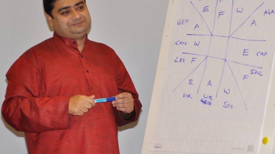 Astrologo ARJUNO CHAKRABORTY asmeninės konsultacijos