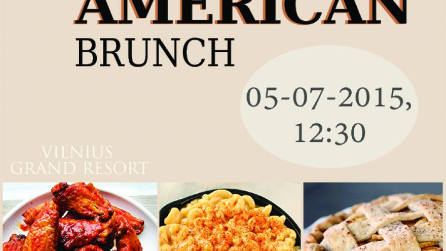 The All – American Sunday Brunch