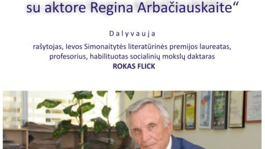 Roko Flick kūrybos skaitymai