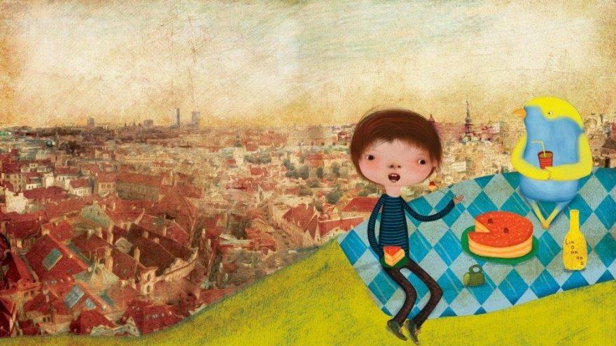RASOS JONI iliustracijų ir animacijos paroda