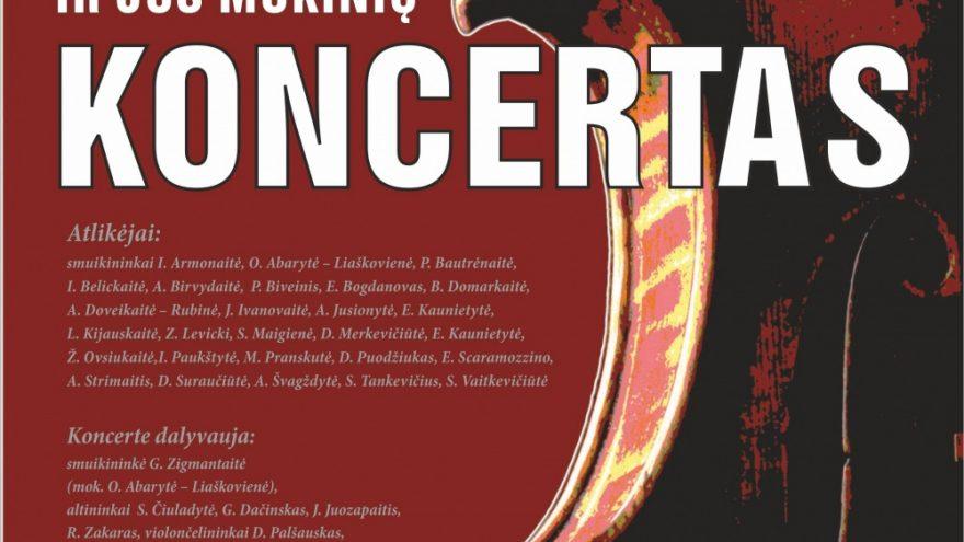 Smuikininkės I.Armonaitės ir jos mokinių koncertas