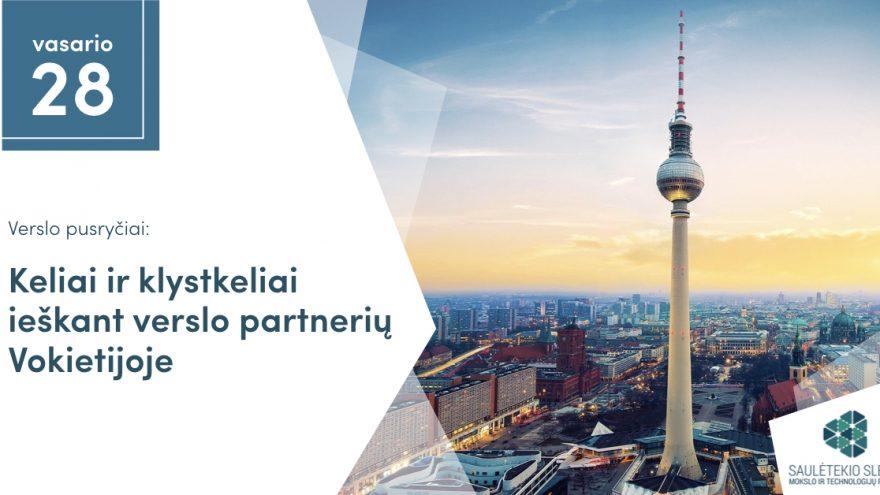"""Verslo pusryčiai: """"Keliai ir klystkeliai ieškant verslo partnerių Vokietijoje"""""""