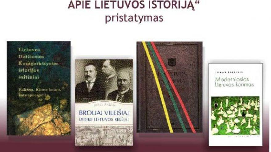 """Parodos """"100 reikšmingiausių knygų apie Lietuvos istoriją"""" pristatymas"""