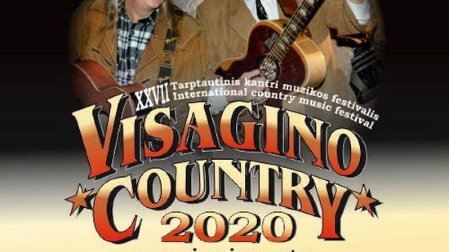 """Tarptautinis muzikos festivalis """"Visagino country 2020"""""""