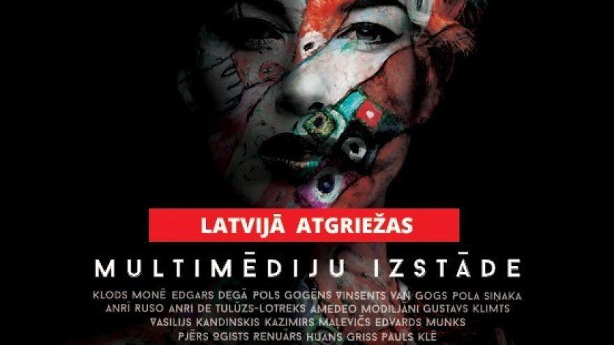 Multimedia exhibitions: The Great Modernists / Van Gogh / Gustav Klimt