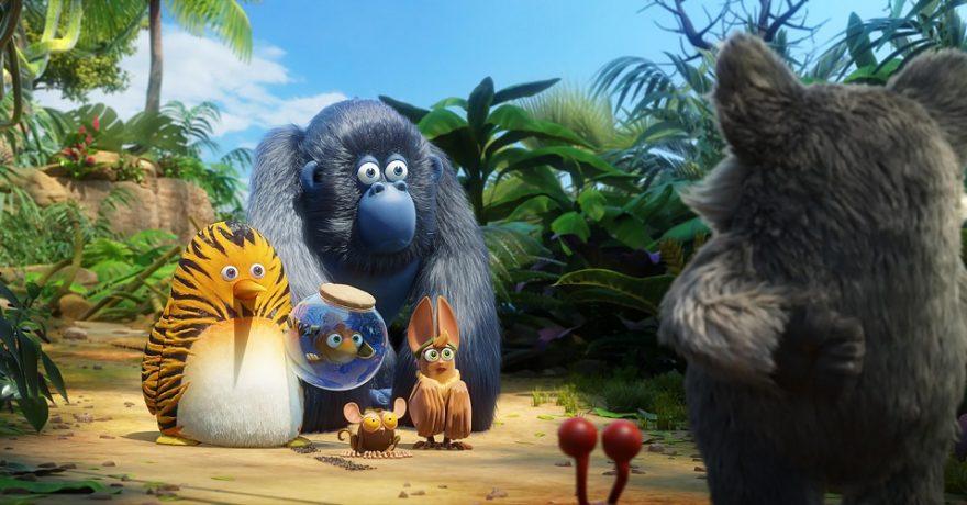 """Pasaulyje populiaraus serialo """"Džiunglių būrys"""" herojai kino teatruose mokys vaikus drąsos būti savimi"""