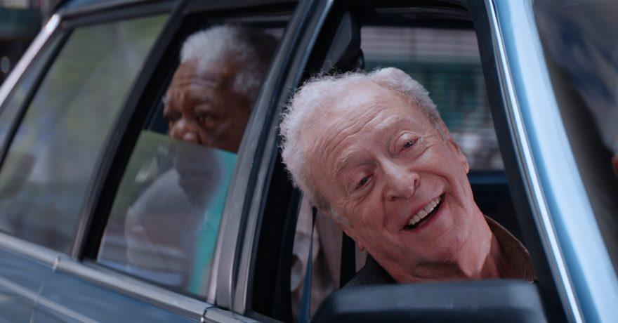 Banko plėšiką suvaidinęs 84-erių M. Caine'as neabejoja galintis juo tapti ir realiame gyvenime