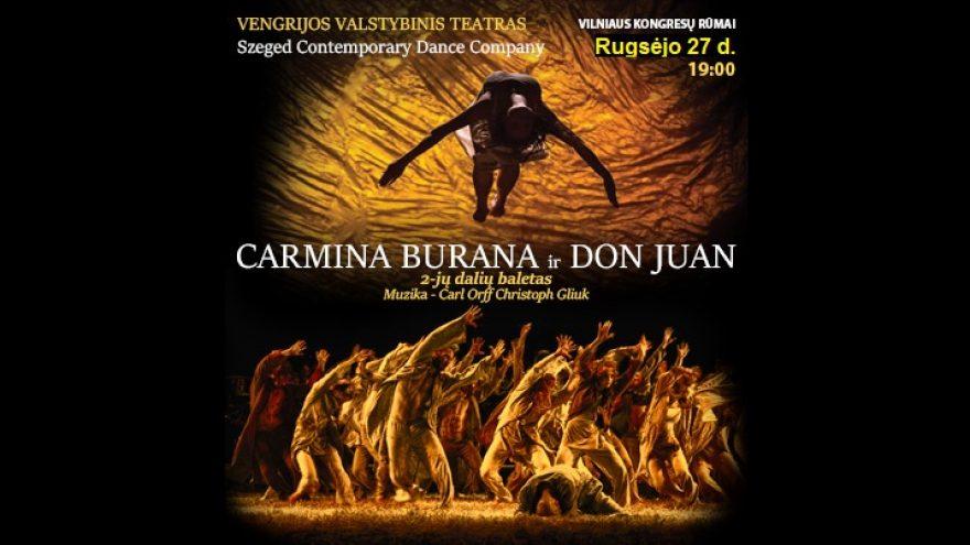 """""""Carmina Burana""""&""""Don Juan"""".Baletas (Vengrija)"""
