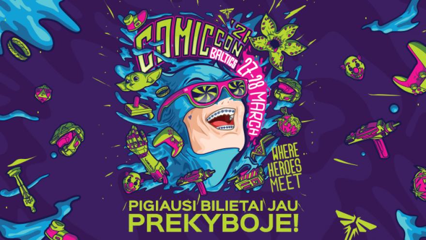 Comic Con Baltics 2021