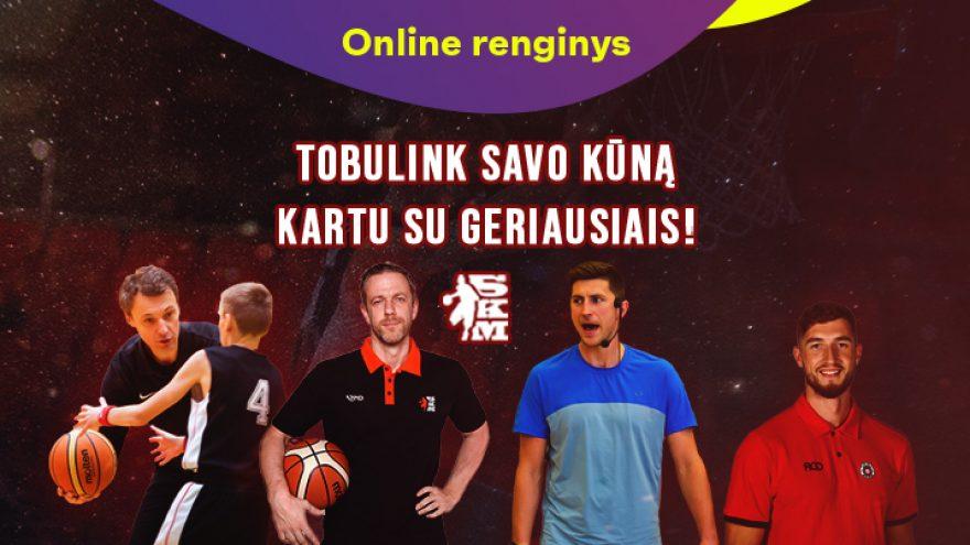 Online: SKM treniruotės mėgėjams ir profesionalams: