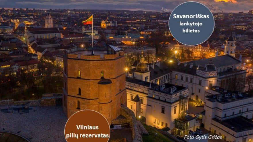 Vilniaus pilių kultūrinio rezervato savanoriškas lankytojo bilietas