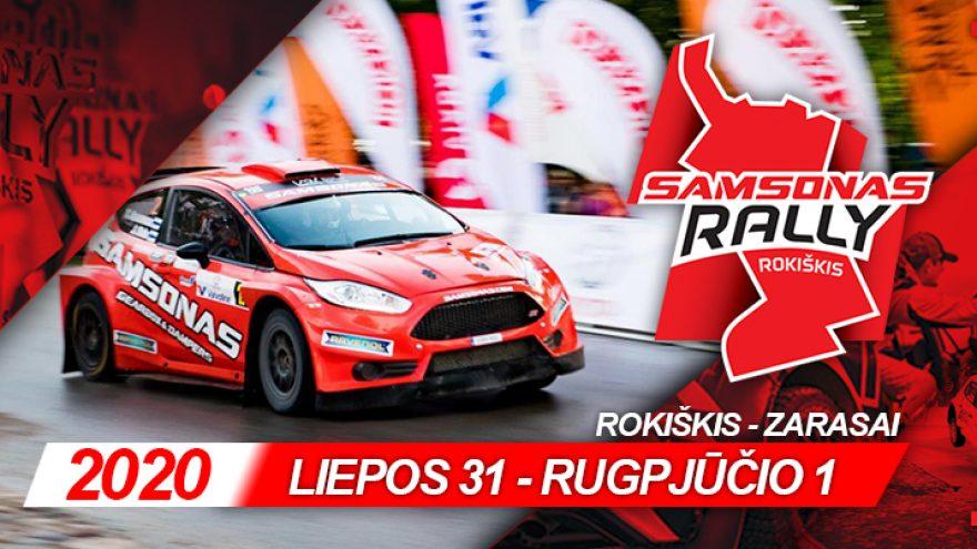 """Ralio fiesta """"Samsonas Rally Rokiškis"""""""