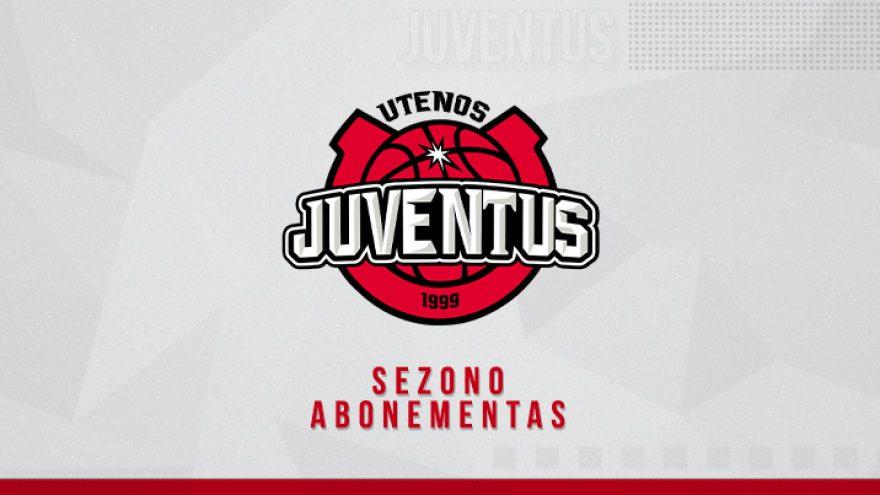 """Krepšinio klubo """"Juventus"""" 2020/2021 metų sezono abonementas"""