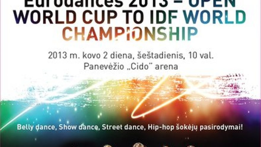 Eurodances 2013 – Open World Cup to IDF World Championship