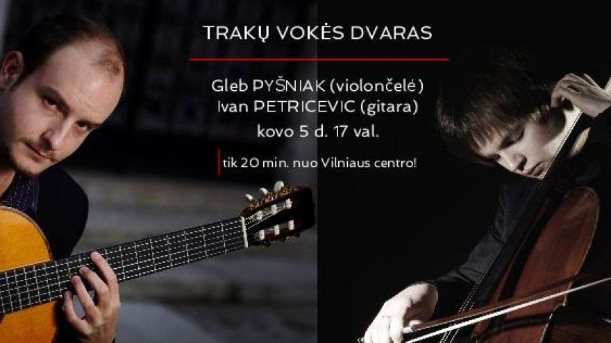 Violončelės ir gitaros dueto koncertas