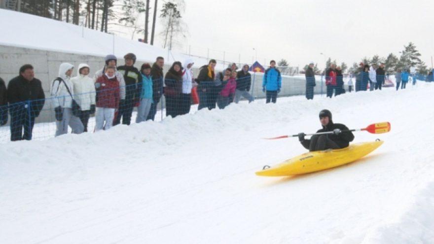 """""""Snow Kayak"""" lenktynės Druskininkuose"""