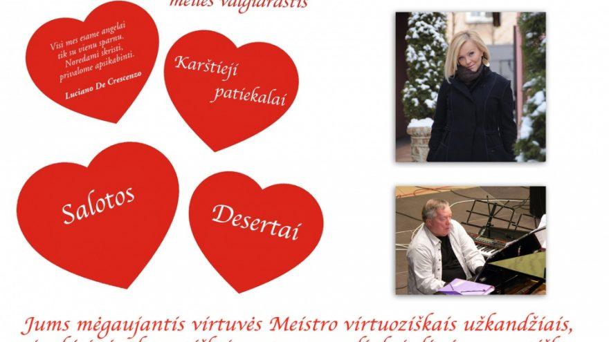 """Ypatingas Šv. Valentino vakaras """"Navalyje"""""""