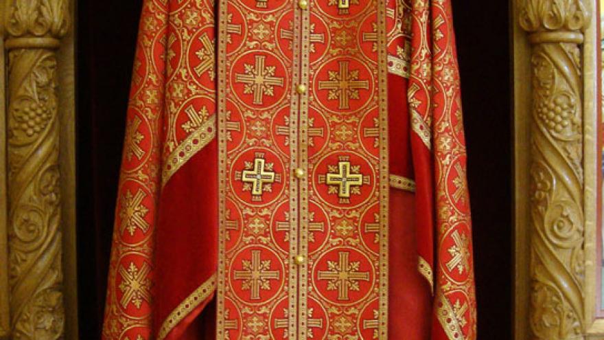 """""""Rytų apeigų krikščionių bažnytiniai drabužiai"""""""