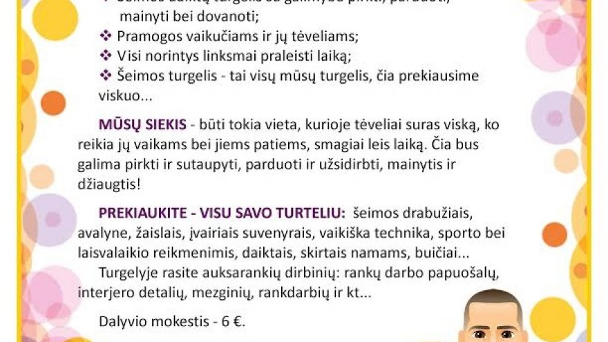 Šeimos turgelis Vilniuje
