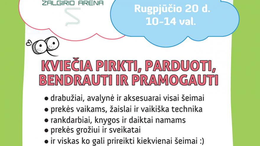 Uodo šeimos turgelis Kaune rugpjūčio 20 d.