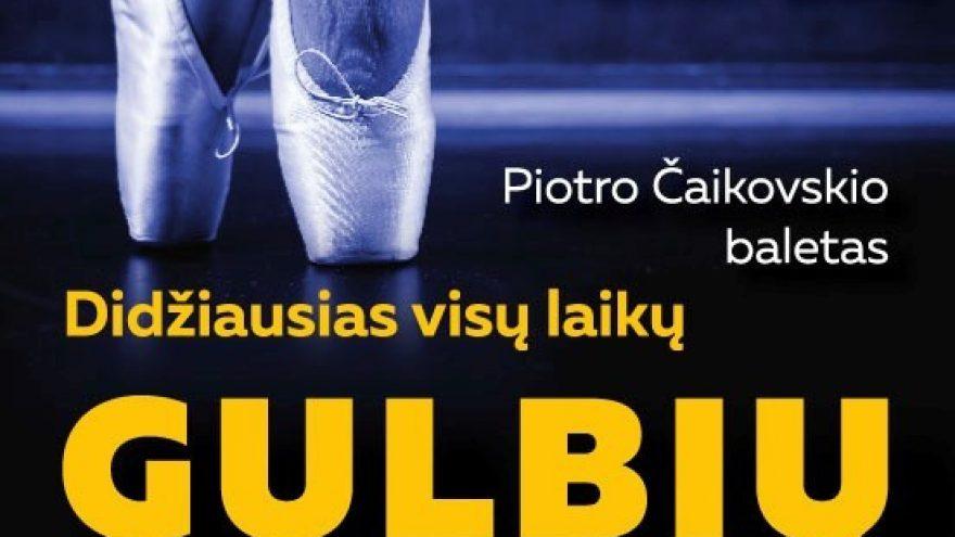"""(KLAIPĖDA) Didžiausias visų laikų """"GULBIŲ EŽERAS"""" (Sankt Peterburgo baleto trupė)"""