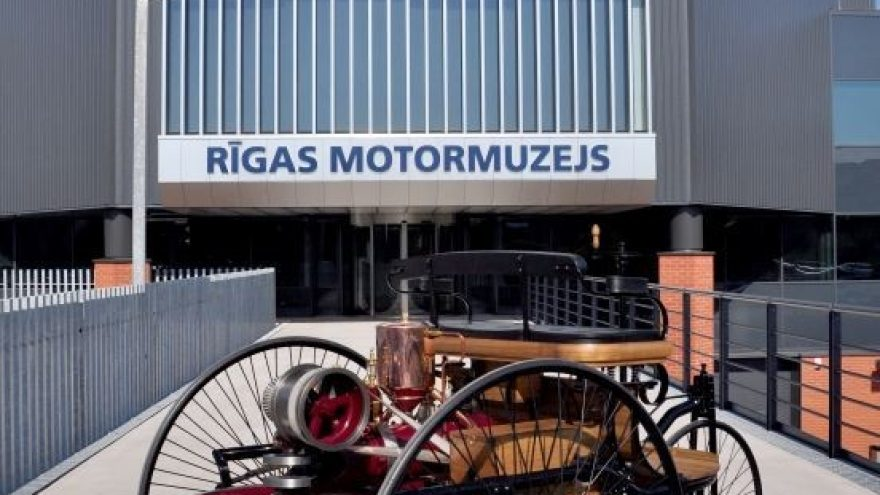 Riga Motor Museum exhibition