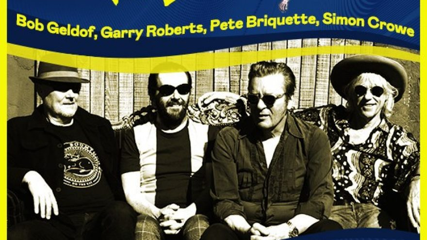 THE BOOMTOWN RATS, featuring Bob Geldof, Garry Roberts, Pete Briquette and Simon Crowe (18.09.20 asendus)