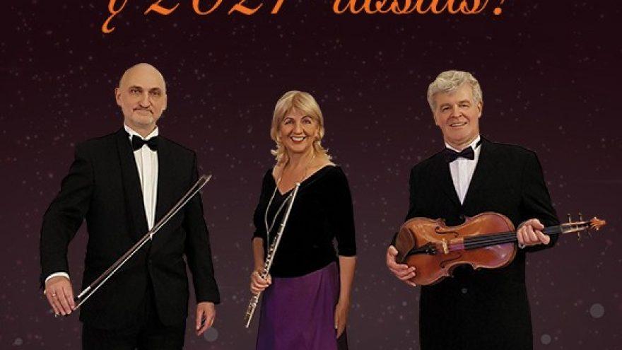 Naujametis koncertas Tango ritmu į 2021-uosius   New Years Eve Concert Enter 2021 in a Tango Style