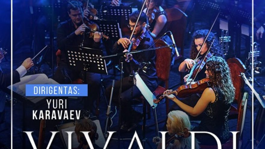 (PERKELTAS) (Panevėžys) VIVALDI. The four seasons. Minsk orchestra «CLASSIC ENERGY» by Olympia Classic