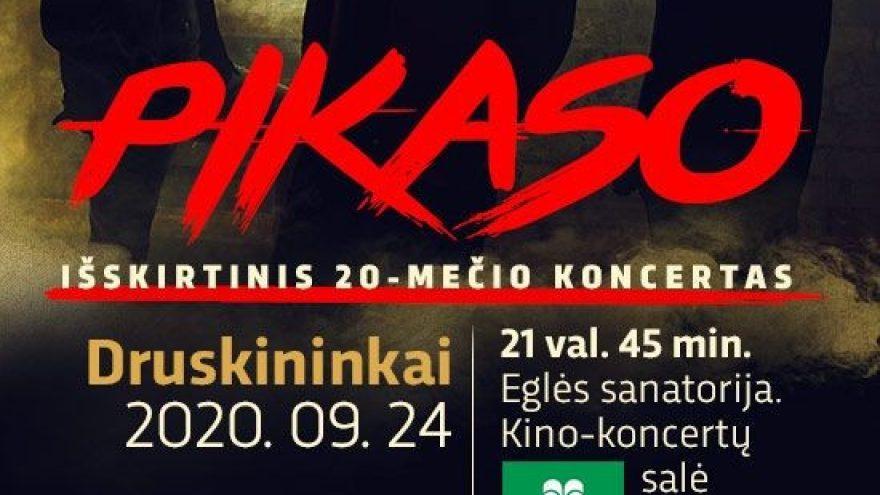 PAPILDOMAS KONCERTAS – Išskirtinis PIKASO 20-mečio koncertas | Druskininkai